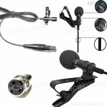 First Rate ใหม่รุ่น Cardioid Clip On Lavalier ไมโครโฟนสำหรับ Shure Lapel ไร้สาย BeltPack XLR 4Pin Mini Plug miCWL M17