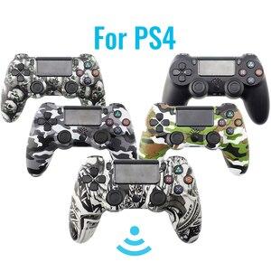 Image 1 - Беспроводной геймпад для PS4, контроллер для электронной сигареты PS4, джойстик с Bluetooth