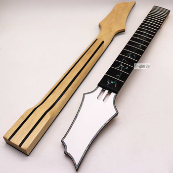 New 8 string Electric Guitar Neck Rosewood fingerboard mahogany Guitar neck assembly DIY  24 Fret Guitar accessories part цена 2017