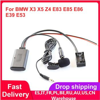 For BMW X3 X5 Z4 E83 E85 E86 E39 E53 Bluetooth Car Aux Auxiliary Line Adapter image