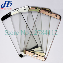 10Pcs Touch Screen panel for Samsung Galaxy S7 Edge G935 / S6 Edge G925 / S6 edge plus G928 s7edge Front LCD Outer Glass Lens