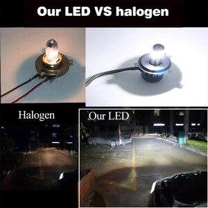 Image 4 - Mini phares de voiture, phares antibrouillards, sans erreur, 12V, D2S D1S D3S D4S LED H4 H7 Canbus H15 H13 4 côtés, 12000lm, 6500K 3000K
