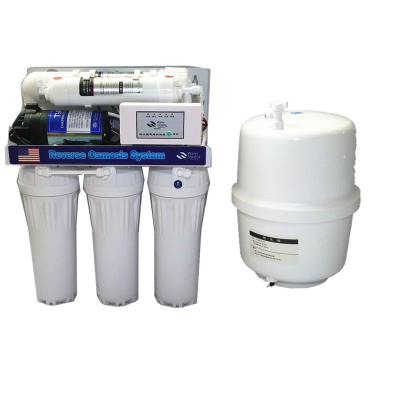 1 Set 75gpd Reverse Osmosis System Pure Water Machine Reverse Osmosis Water Filter Parts Ro Water Pump Salt Chlorinator