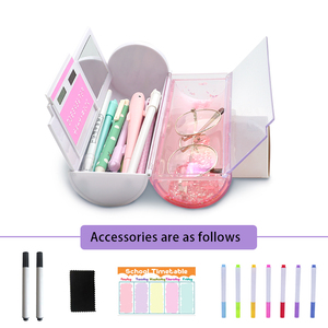 Image 4 - NBX Beautiful Pencil Case School Chinese Style Culture Creative Stationery Gift Dog Newmebox Kawaii Girl Pen Box Mysterious Dog