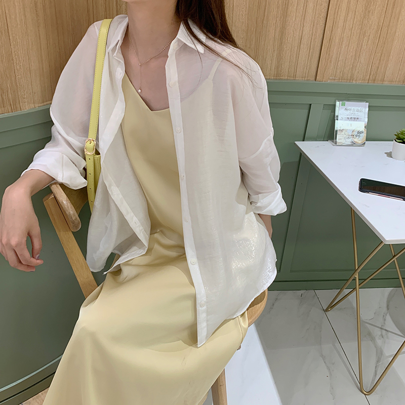 Summer Women's Dress Casual Solid Color Suspension Dress