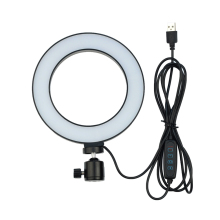 128 light LED Ring Light Dimmable Beauty Adjustable  Fill