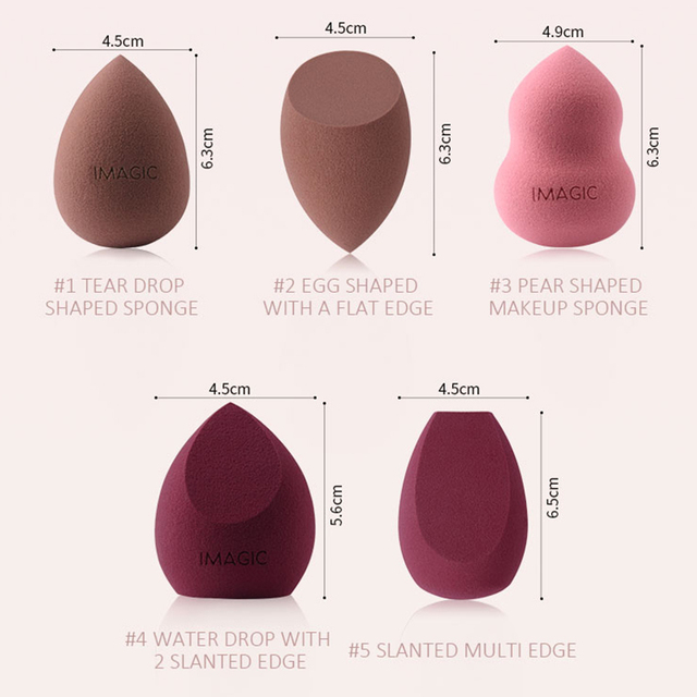 1Pc Makeup Sponge Puff Egg Face Foundation Concealer Cosmetic Powder Make Up Blender Blending Sponge Tools Accessories 30 4