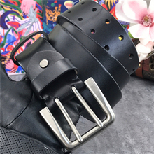 Luxury 4.3CM Leather Belt Men Ceinture H