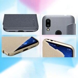 Image 3 - For Xiaomi Redmi 7 5 6 6A Flip Case NILLKIN Sparkle Luxuly super thin flip cover PU leather case for Xiaomi Redmi Y3 Phone Bags