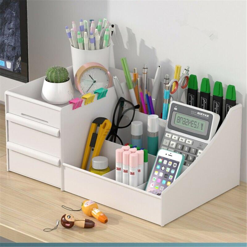 Plastic Home Drawer Desk Desktop Storage Box Organiser Clear Acrylic Makeup Make Up Organizer For Cosmetic