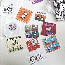 8 листов Инс комиксов мультфильм щенок декоративные наклейки костюм студент ноутбук милый запечатывания канцелярские DIY фотографии реквизит