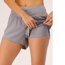 Шорты женские спортивные на шнурке эластичные свободные штаны