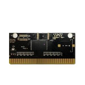 Image 4 - Carte de circuit imprimé pour Console de jeu vidéo Sega Genesis Megadrive, étiquette Red Zone   EUR Flashkit MD Electroless Gold PCB