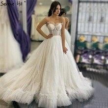 Serenhill robe de mariée Simple sans manches avec cœur, robes de mariée Sexy, sur mesure, HA2341, 2020