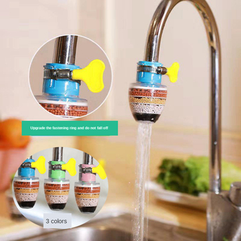 цена на Kitchen Faucet Activated Carbon Water Purifier Water Filter Purification System Remove Rust Sediment Filtering Suspen