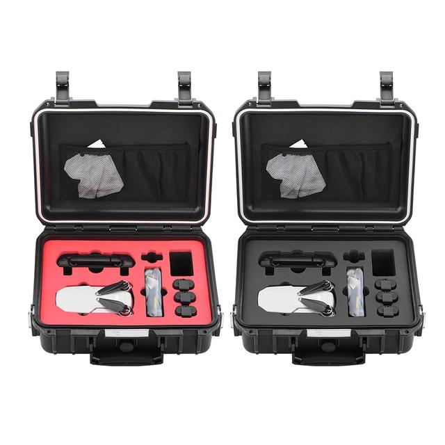 עמיד למים Drone תיבת לdji Mavic מיני Drone כבד החובה אחסון תיק תיק נשיאה נסיעות נייד Hardshell Handbox מגן