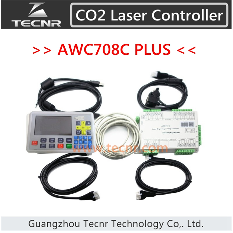 Trocen AWC708C PLUS Sistema di controllo DSP laser CO2 supporto 6 assi e Num Lock per macchina da taglio laser