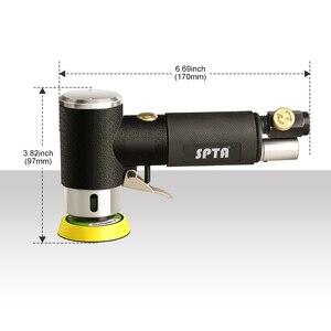 """Image 4 - SPTA ponceuse à orbite aléatoire 1 """"/2""""/3 """", Mini ponceuse pneumatique, pour le polissage des voitures, polisseuse à Air haute vitesse"""