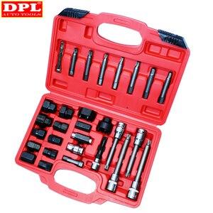 Image 1 - DPL 30 stücke Lichtmaschine Freilauf Pulley Puller Lichtmaschinen Werkzeug Set Spezielle Buchse Set