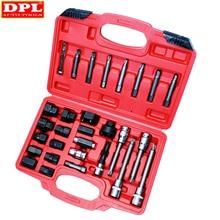 DPL 30pcs Alternator Freewheel Pulley Puller Alternators Tool Set Special Socket Set