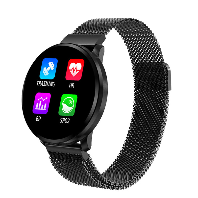 Smartwatch Couple Watch Sport Bluetooth Touch Watches IP67 Waterproof Digital Electronic Watch Men Women Gifts Black