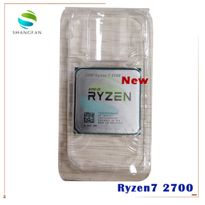 Image 1 - חדש AMD Ryzen 7 2700 R7 2700 3.2 GHz שמונה ליבות Sinteen חוט 16M 65W מעבד מעבד YD2700BBM88AF שקע AM4