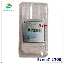 Neue AMD Ryzen 7 2700 R7 2700 3,2 GHz Acht Core Sinteen Gewinde 16M 65W CPU prozessor YD2700BBM88AF Buchse AM4