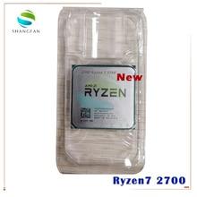 New AMD Ryzen 7 2700 R7 2700 3.2 GHz Eight Core Sinteen Thread 16M 65W CPU Processor YD2700BBM88AF Socket AM4
