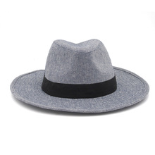 New Fashion Cowboy Hats For Men And Women Gray Color Cotton Wide Brim Simple Casual Comfortable Travel Unisex 2019