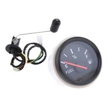 2 дюйма указатель калибра Автомобильный датчик уровня топлива Сенсор УФ-фильтр 52 мм с мотоциклетный масляный датчик уровня топлива Сенсор а...