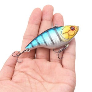 Lures Fishing-Tackle Wobber Sinking Crankbait 18g Treble-Hooks 1PCS Hard-Vib