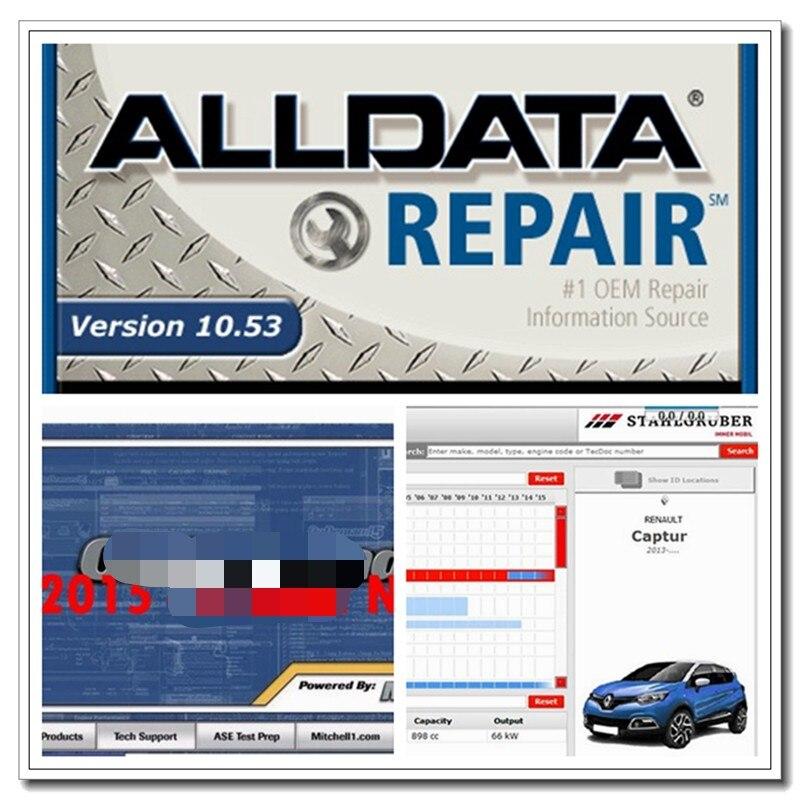2020 venda quente alldata software de reparação de automóveis todos os dados 10.53 mit//chell od5 2015v oficina vívida atris 2018.01v 1tb hdd usb3.0
