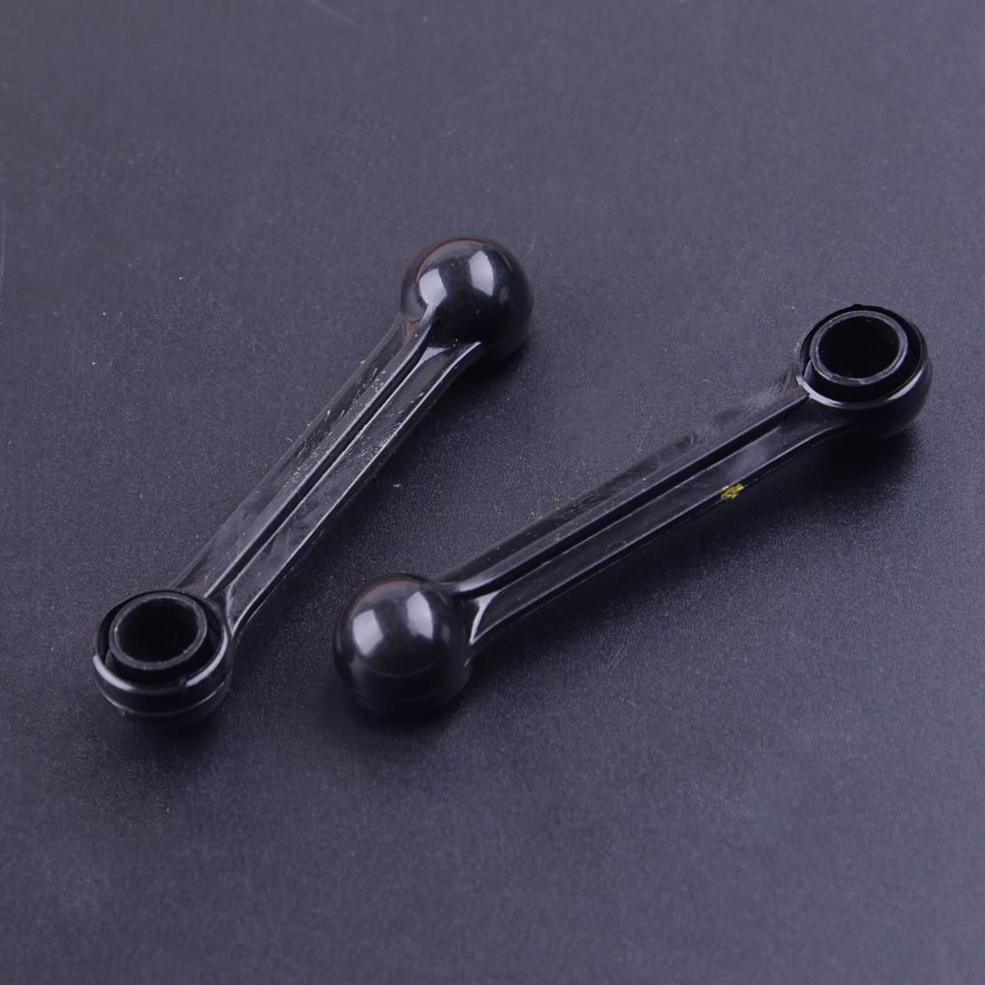 CITALL 2Pcs 077198327A Black Plastic Intake Manifold Actuator Link Arm 2