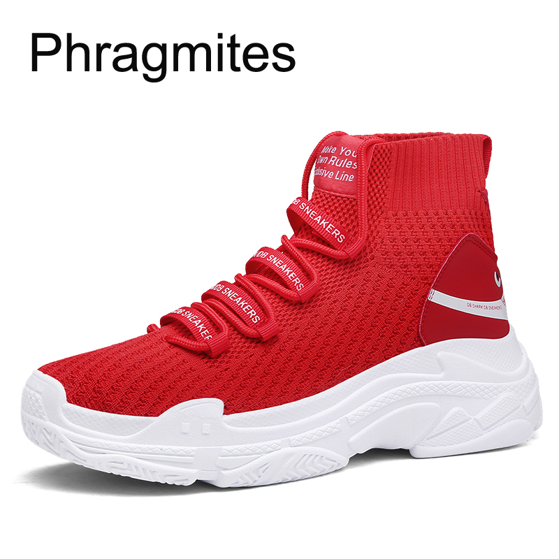 Phragmites Big Size Lovers Sneakers Summer Breathable Tenis Masculino Non-leather Casual Lightweight Shoes Air Mesh Men