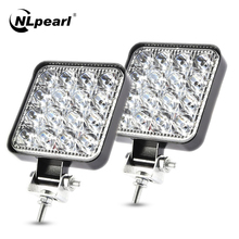 Work-Light Truck SUV Nlpearl 4WD Auto 48w Led Off-Road 24V 4x4 Car-Fog-Lamp 42W 12V