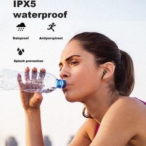 Image 2 - Whizzer TP1 беспроводные Bluetooth наушники TWS V5.0 водонепроницаемые IPX5 в ухо 3D стерео беспроводные наушники с сенсорным управлением