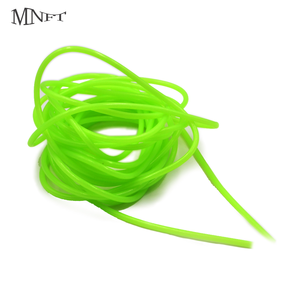MNFT 5M Green Soft Silicone Fishing Night Luminous Tube Fluorescent Deep Sea Boat Fishing Glow Rig Hook Line Accessories