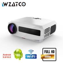 Проектор WZATCO C3 на Android с поддержкой Wi-Fi, Full HD 1080P, 300 дюйма