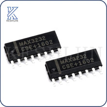 10 Pçs/lote MAX3232ESE + T SOIC-16 chip RS232 transceptor original novo