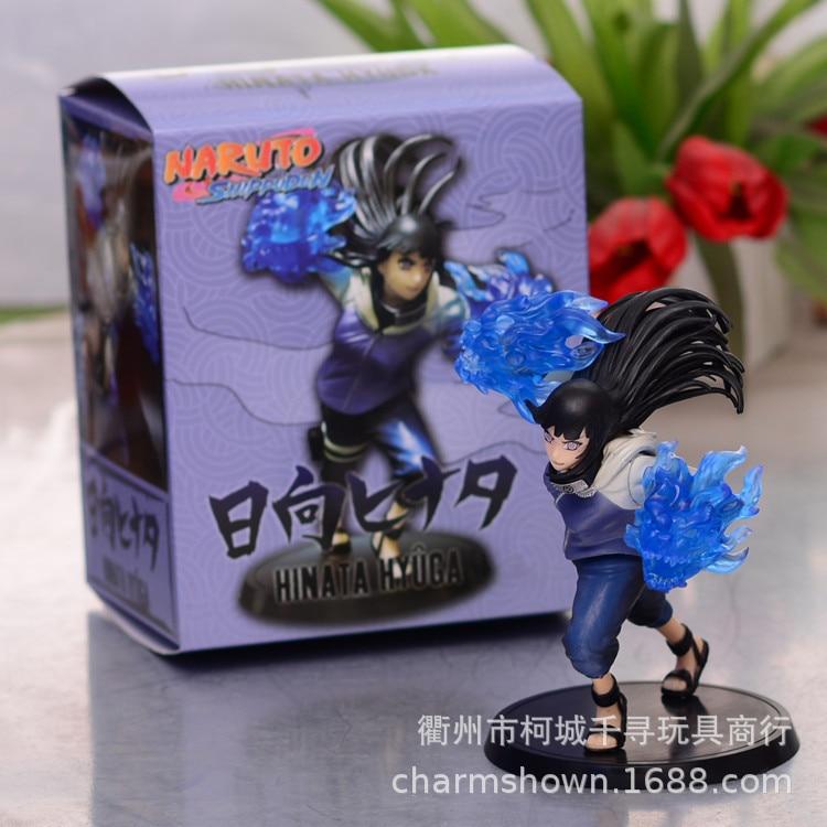 Фигурка Хината хиуга из аниме, 24 поколения, фигурка куклы хиуги Хината, 19,5 см, в коробке, модель, украшение, Коллекционная модель