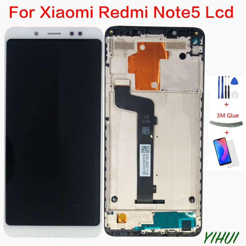 10-Touch AAA Quality <font><b>LCD</b></font>+Frame For Xiaomi <font><b>Redmi</b></font> <font><b>Note</b></font> <font><b>5</b></font> <font><b>Pro</b></font> <font><b>LCD</b></font> Display <font><b>Screen</b></font> Replacement For <font><b>Redmi</b></font> <font><b>Note</b></font> <font><b>5</b></font> <font><b>LCD</b></font> Snapdragon 636 image