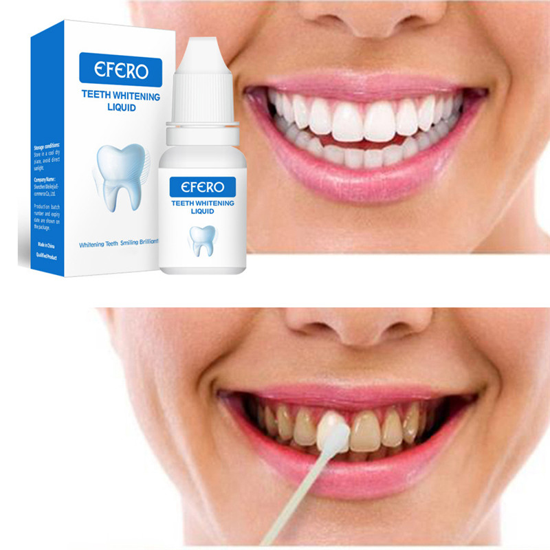 Teeth Whitening Serum Gel Dental Oral Hygiene Effective Remove Stains Plaque Teeth Cleaning Essence Dental Care Toothpaste 10ml