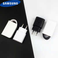 Samsung S10 MobilePhone Super Fast Charger 25w Usb PD quick EU travel wall usb type-c charging adapter for Galaxy Note 10 S10 mi9 k20 pro