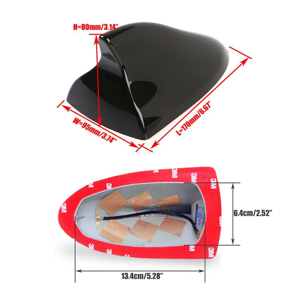 Antena sirip hiu penutup, Radio mobil udara Auto atap Antena - Suku cadang mobil - Foto 5
