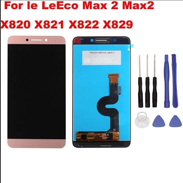 """5.7 """"oryginalny wyświetlacz dla LeTV LeEco Le Max 2 LCD ekran dotykowy Digitizer dla Leeco Le Max 2 Max2 LCD X820 X829 X821 X822 X823"""