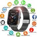 Новинка 2021, умные часы P8 с цветным экраном для женщин и мужчин, фитнес-трекер с полным сенсорным экраном, Смарт-часы с тонометром, женские Сма...