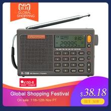 Radiwow Sihuadon R 108 Fm Stereo Digitale Draagbare Radio Geluid Alarmfunctie Display Klok Temperatuur Speaker Als Ouder Gift