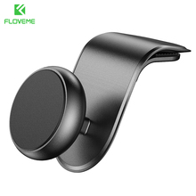 FLOVEME Universal Magnetic Car Phone Holder For iPhone Xiaomi 360 Rotation