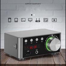 TPA3116 50W * 2 Klasse D Stereo Bluetooth 5.0 Digitale Versterker Tf 3.5 Mm Usb Input Hifi Audio home Amp MP3 Voor Mobiele