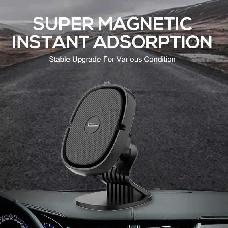Jellico Auto Telefoon Houder Magnetische Air Vent Clip Mount Magneet Mobiele Telefoon Auto Mobiele Stand Ondersteuning Mobiele Houder In Auto gps 3